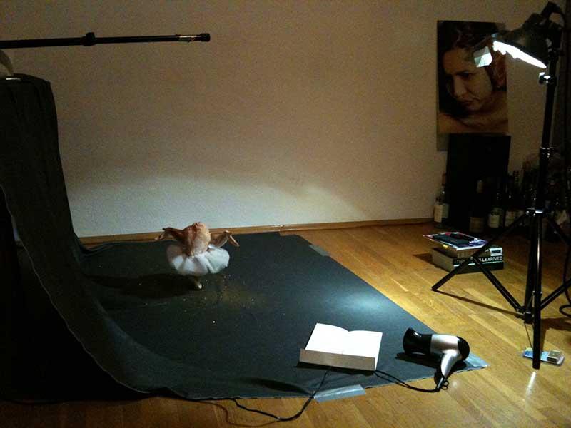 Luna Ballet Chicken BTS img_0252